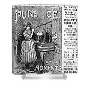 Ice Machine, 1891 Shower Curtain