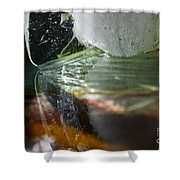 Ice Obsession Two Shower Curtain