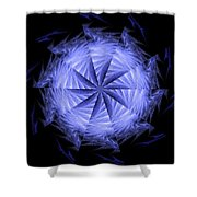 Ice Wheel Shower Curtain