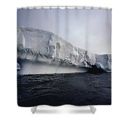Iceberg Palmer Peninsula Antarctica Shower Curtain