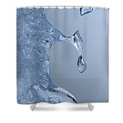 Icicle Detail Shower Curtain