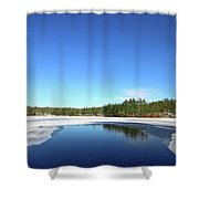 Icing Call Shower Curtain