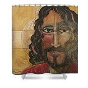 icon no 4 revision A Shower Curtain