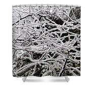 Icy Dreams Shower Curtain
