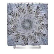 Icy Mandala 2 Shower Curtain