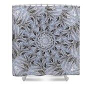 Icy Mandala 3 Shower Curtain