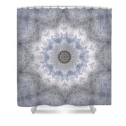 Icy Mandala 5 Shower Curtain