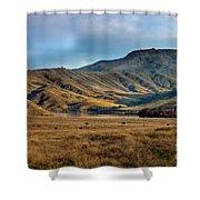 Idaho Foothills Shower Curtain