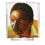 Idrissa Ouedraogo Shower Curtain