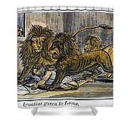 Ignatius Of Antioch (c35-110) Shower Curtain