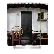 Il Vagone Bianco Shower Curtain