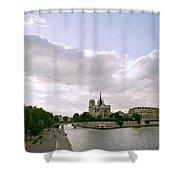 Notre Dame Paris Shower Curtain