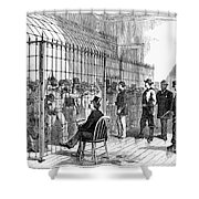 Illegal Voters, 1876 Shower Curtain