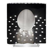 Illuminated Egg Shower Curtain