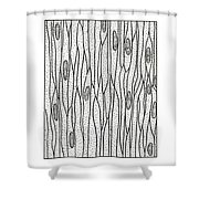 Illustration Of Muscle Types Shower Curtain