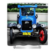 I'm Cute - 1922 Model T Ford Shower Curtain