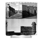 Images Of The Old Castillo Shower Curtain