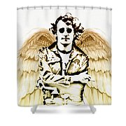 Imagine There's No Heaven Shower Curtain