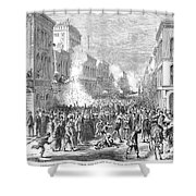Immigrants: Chinese, 1871 Shower Curtain by Granger
