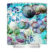 Immune Dreaming 1 Shower Curtain
