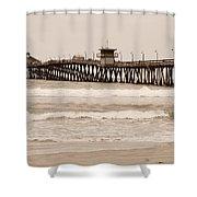 Imperial Beach Shower Curtain