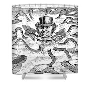 Imperialism Cartoon - To License For Professional Use Visit Granger.com Shower Curtain