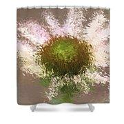 Impressionistic Echinacea Shower Curtain