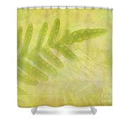 Impressions Of A Fern Shower Curtain