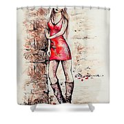 In A Moment Shower Curtain