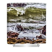 In-coming Tide Shower Curtain