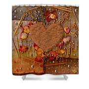 In Cookie And Bread Style Shower Curtain