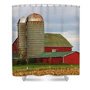 In Farmer's Field Shower Curtain