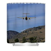 In For A Landing Shower Curtain