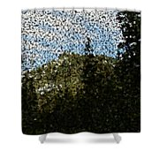 In Longing Dreams The Vision Comes Shower Curtain