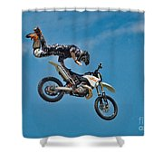 In Mid-air Shower Curtain