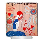 In My Bouquet Of Memories Shower Curtain