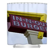 In-n-out IIi Shower Curtain