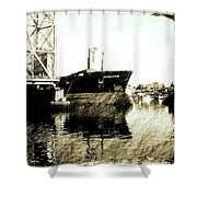 In Portsmouth Harbor Shower Curtain