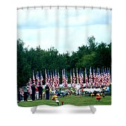 In Remembrance Of 9-11 Shower Curtain