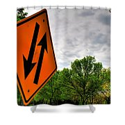 In Sync With Nature  Shower Curtain