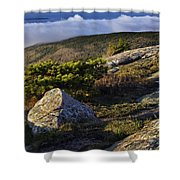 In The Clouds At Cadillac Shower Curtain