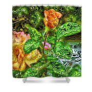 In The Garden Of Dreams Shower Curtain