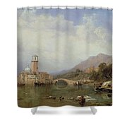 In The Gulf Of Venice Shower Curtain