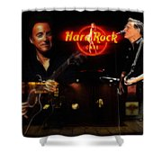 In The Hard Rock Cafe Shower Curtain