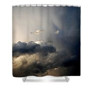 In The Midst Of The Clouds Shower Curtain