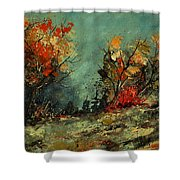 In The Wood 452101 Shower Curtain