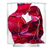 In Your Head  Shower Curtain