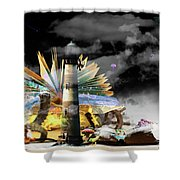 In Your Imagination Shower Curtain
