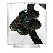 Ina Knot Shower Curtain