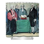 Inauguration Of George Washington, 1789 Shower Curtain